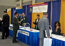 Photo of job fair